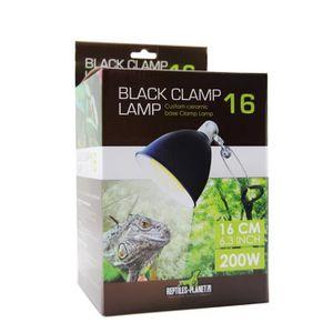 ÉCLAIRAGE Éclairage Support de Lampe pour Reptile Black Clam