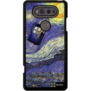COQUE - BUMPER Coque LG V20 - La nuit étoilée de Vincent Van Gogh