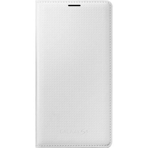 SAMSUNG Etui à rabat EF-WG900BH pour Samsung Galaxy S5 - Blanc