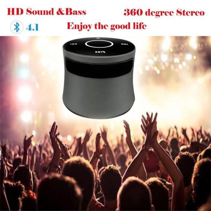 Haut-parleur Portable Bluetooth Sans Fil Superbe Son Hd & Bass 360 Degrés Stéréo Starhope510