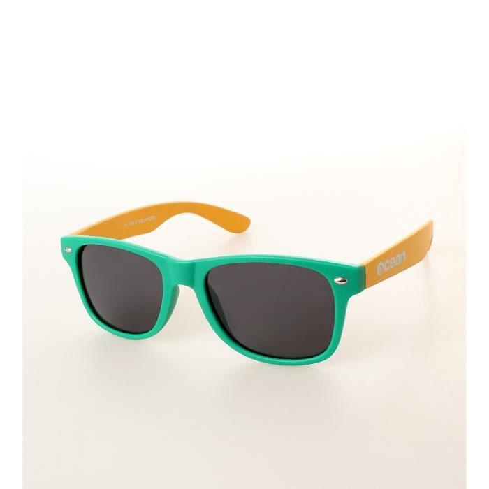 Plage vert mat soleil lunettes et jaune de Wayfarer 1BXr1Igq ... 34fca683aa92