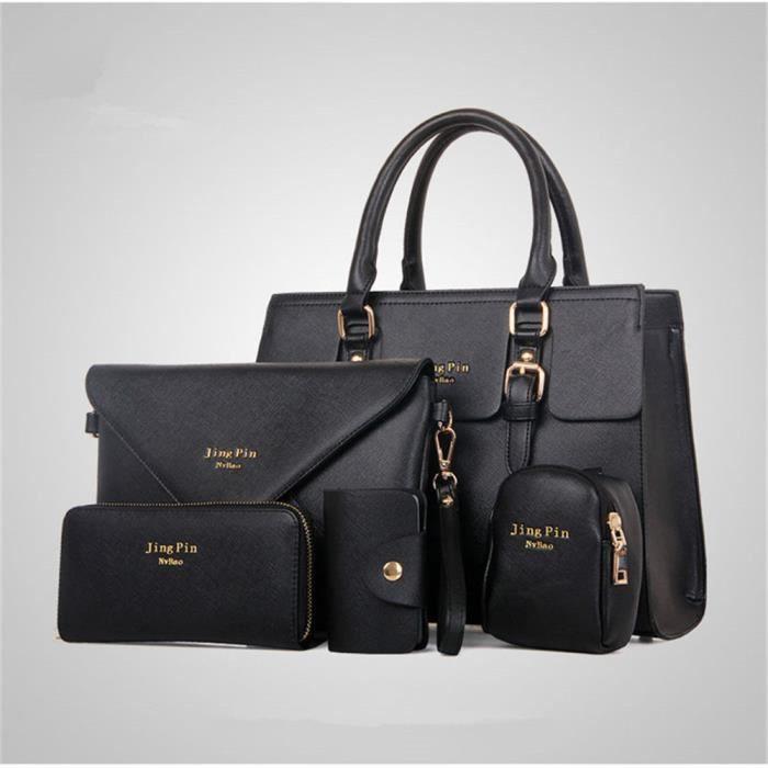 Femmes sac à main Marque De Luxe Haut qualité En Cuir Nouvelle Mode Meilleure vente Durable femme sac a bandouliere noir