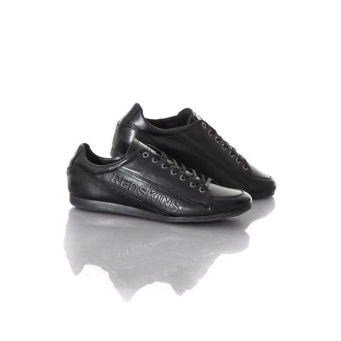 en Wolki Chaussures cuir Redskins Chaussures Redskins noir Baskets 8qIzYz