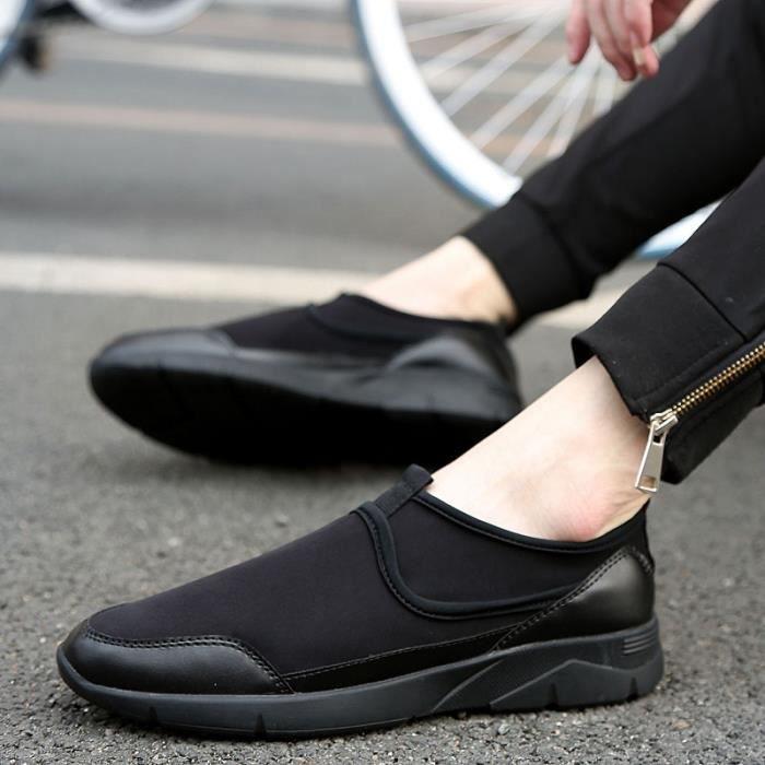 Étudiants coréens simple résistance à l'usure des chaussures mocassin pour homme