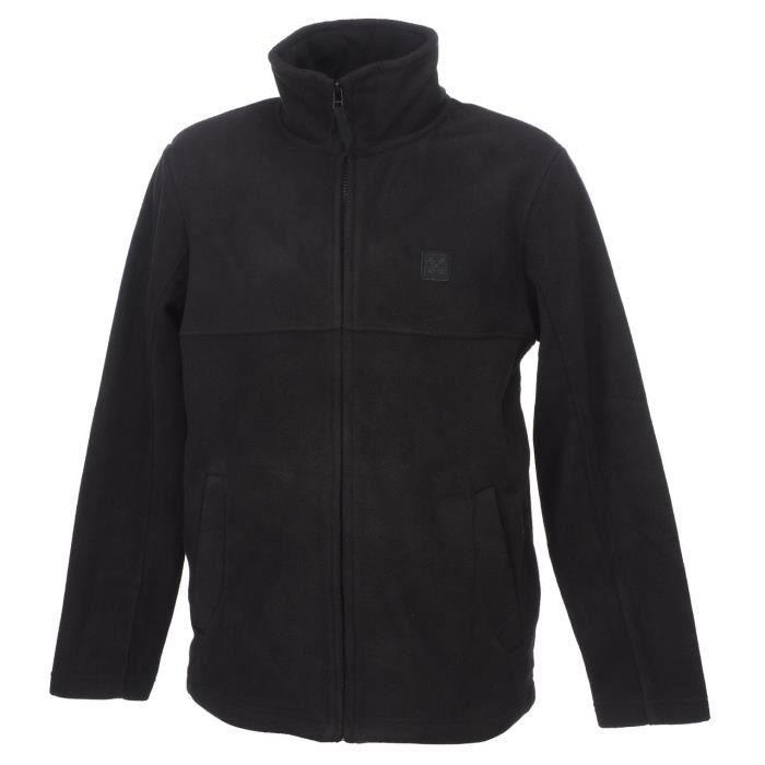 Vestes polaire Teveston noir polaire - Oxbow Noir Noir - Achat ... 60b010eed03