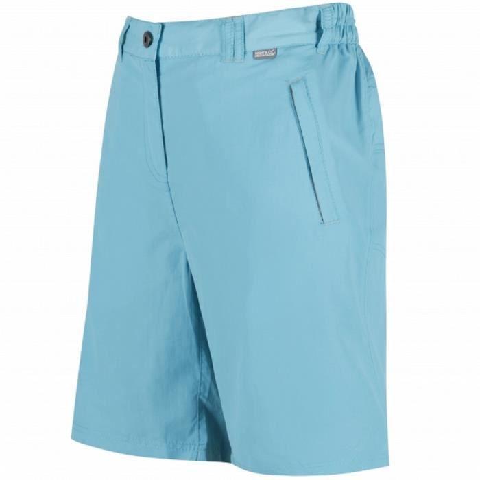 0fac63c1f2f31 Regatta Chaska - Short d'été - Femme Bleu Bleu horizon - Achat ...