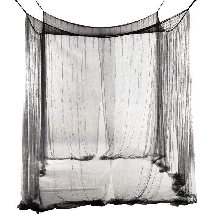 moustiquaire de lit 2 personnes achat vente pas cher. Black Bedroom Furniture Sets. Home Design Ideas