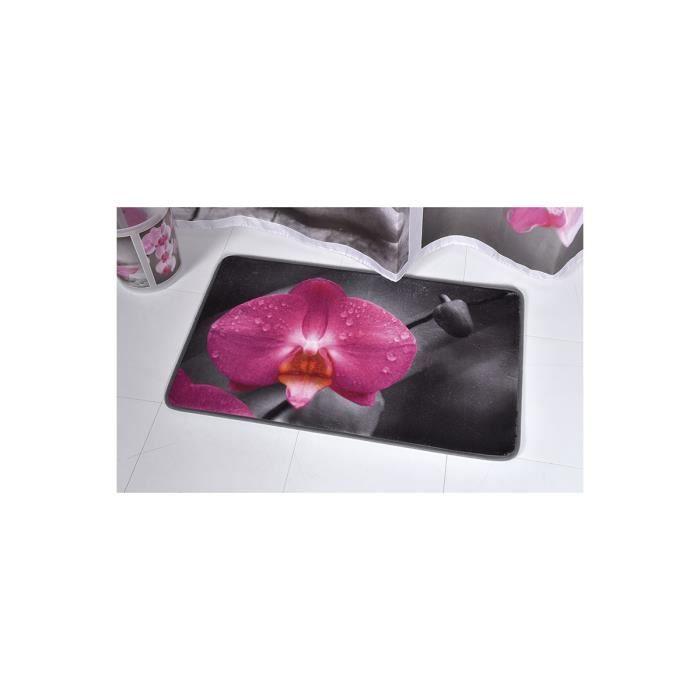 Tapis de salle de bain chic and zen achat vente tapis for Tapis de salle de bain zen