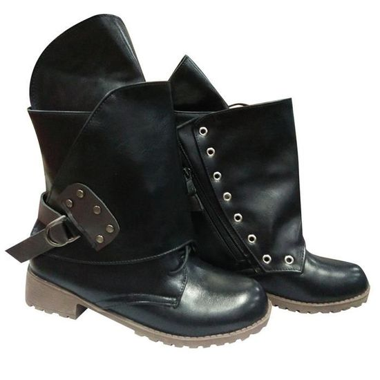 ... Oppapps12538 À En Martin Chevalier Bottillons Ceintures Cuir Les  Chaussures Bottes Boucle Femmes Lacets Boot Cheville 93fd3e3b846