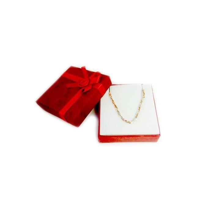 Chaîne- Éclat de rose et blanc StyleAnklet en argent Sterling, 9