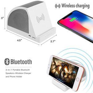 ENCEINTE NOMADE BT-A1Portable à chargement sans fil sur port USB a