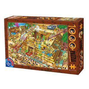 PUZZLE Puzzle 1000 pièces - Cartoon Collection : Pyram...