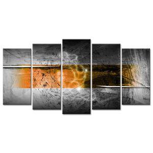 TABLEAU - TOILE Tableau Déco Abstrait Décoration Esquisse - 150x80