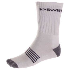 7f60f00f215c8 Vêtements Homme Chaussettes K-swiss All Court Pack 3 Sock Blanc ...