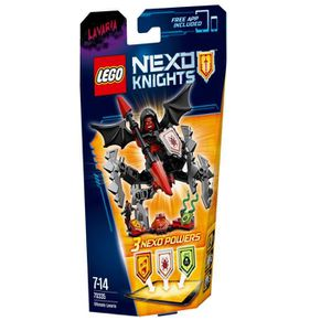ASSEMBLAGE CONSTRUCTION LEGO® Nexo Knights 70335 L'Ultime Lavaria