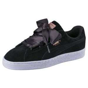 Chaussure suede heart Achat Vente pas cher