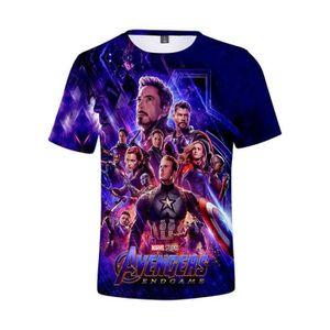 2d5bea5549c86 T-shirt Avengers homme - Achat   Vente T-shirt Avengers Homme pas ...