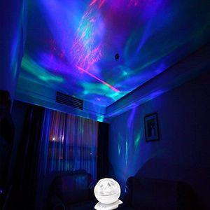 VEILLEUSE Réaliste Aurora Borealis étoiles Projecteur Nuit C