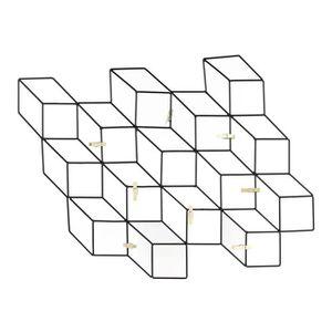 PÊLE-MÊLE PHOTO Pêle-mele filaire 8 Photos Cube - L. 54 x H. 42 cm