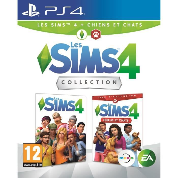 SIMS 4 Edition Chiens & Chats Jeu PS4