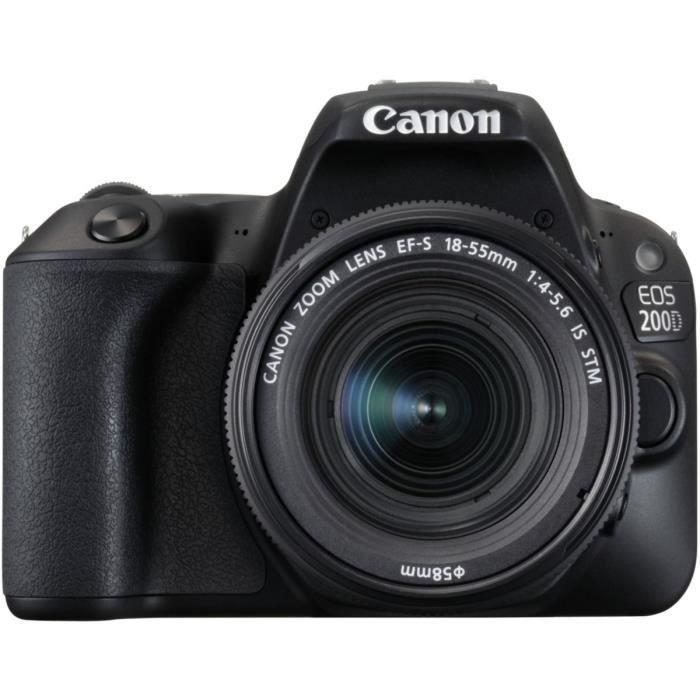 Canon EOS 200D Noir + EF-S 18-55mm f/4-5,6 IS STM