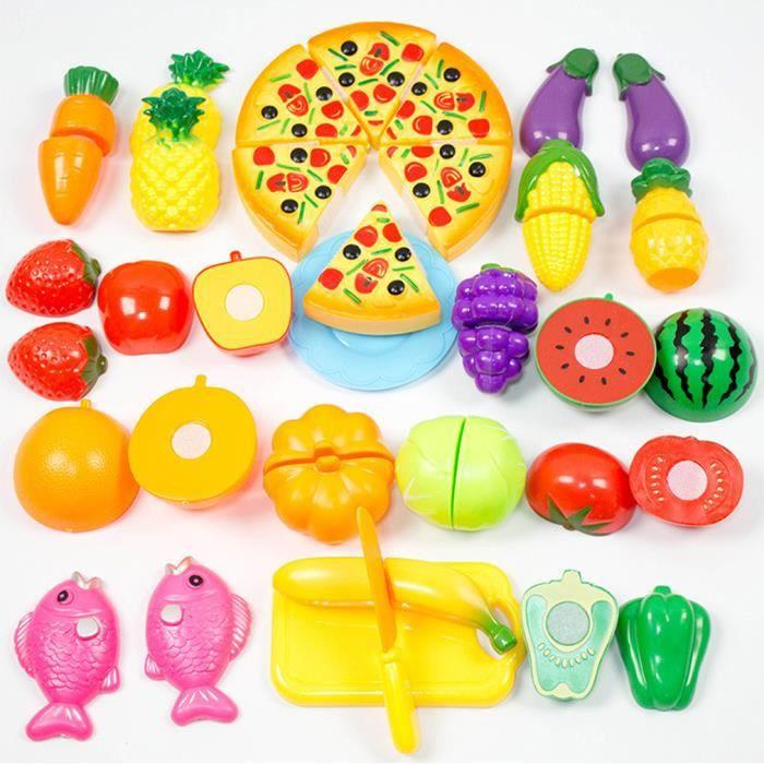 petit jouet cuisine de simulation couper des fruits et des l gumes des jouets educatifs gar on. Black Bedroom Furniture Sets. Home Design Ideas