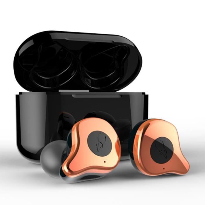 E12 Tws Bluetooth 5.0 Sans Fil Écouteurs In-ear Casque Sport @yunsoel4850