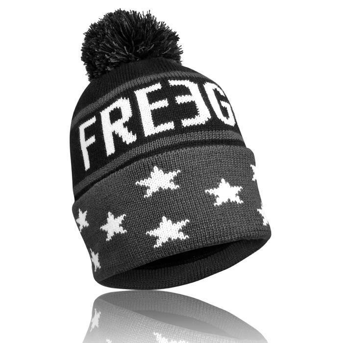 Bonnet Garçon Freegun Pompon Gris Gris - Achat   Vente bonnet ... 78870609ccc
