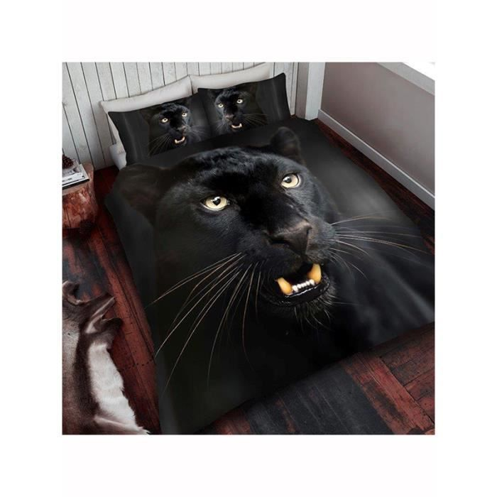 housse de couette animaux achat vente housse de couette animaux pas cher cdiscount. Black Bedroom Furniture Sets. Home Design Ideas