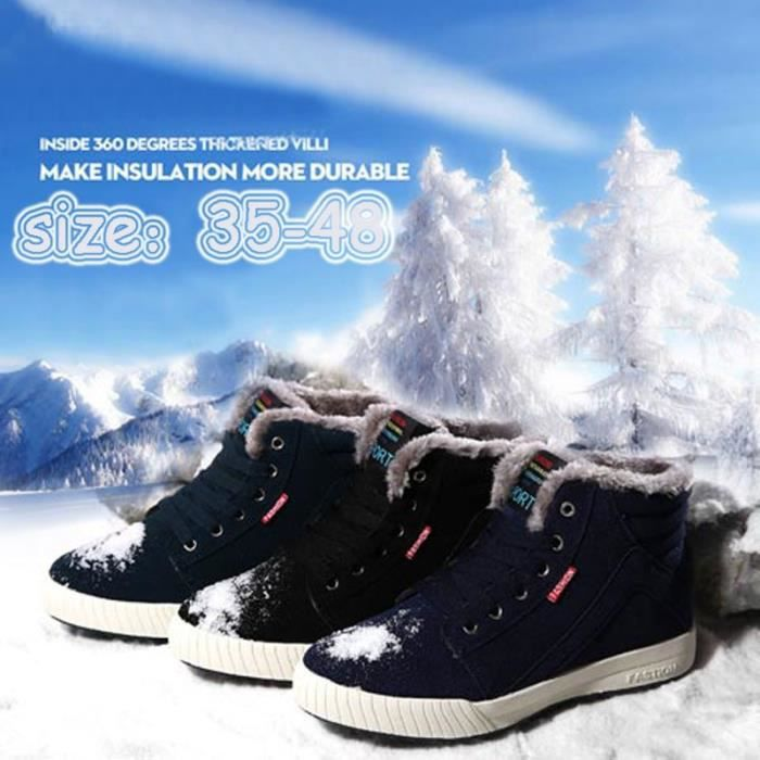 Mode de Bottes design spéciale Gardez élégant de style neige beauté homme d'hiver Bottes chaleureux rtwrq
