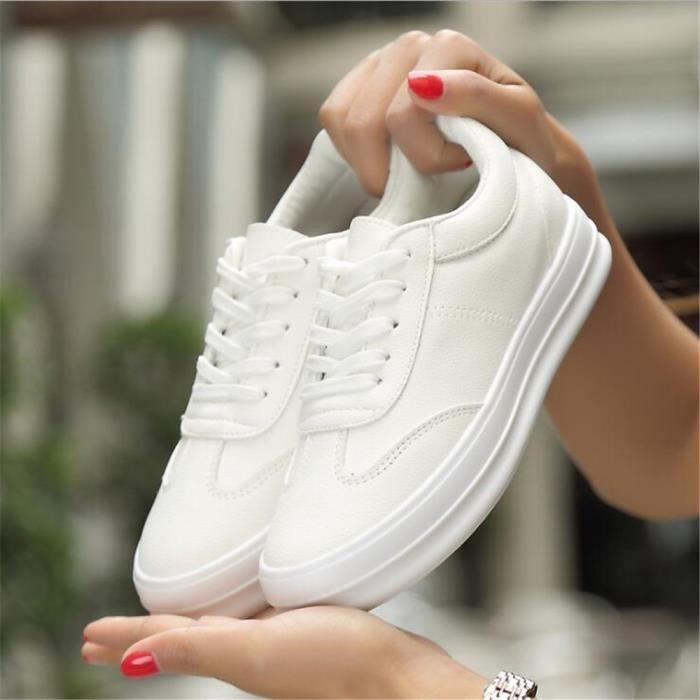 Chaussure femme Nouvelle arrivee De Marque De Luxe Grande Taille Sneakers Haut qualité 2017 Chaussures épaisses pWzd76yL