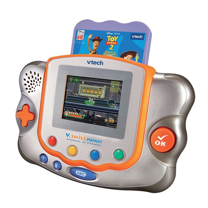 console vsmile pocket toystory 2 vtech achat vente console ducative cdiscount. Black Bedroom Furniture Sets. Home Design Ideas