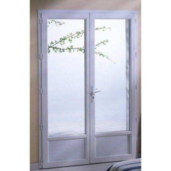 Porte Fenêtre H 215 Cm X L 140 Cm Double Vitrage Achat Vente