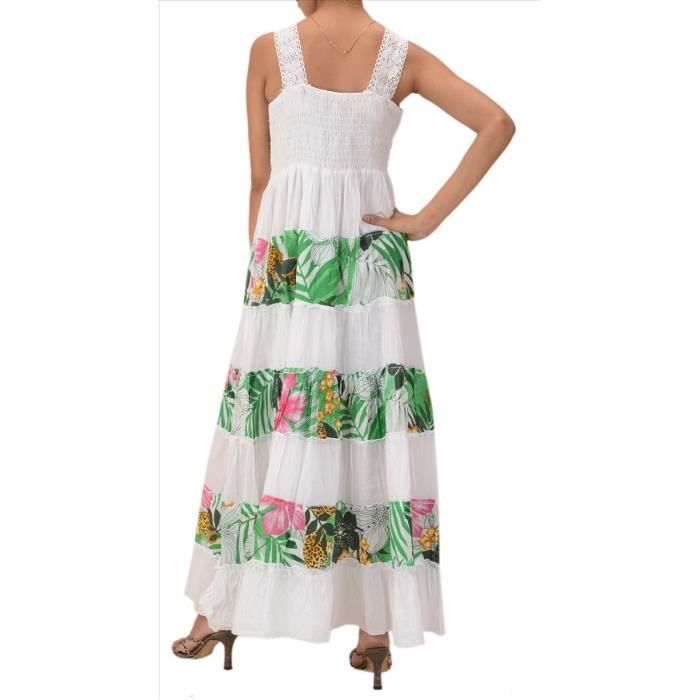 Womens Skirts n Scarves Sleeveless Cotton Dress A73RA Taille-32