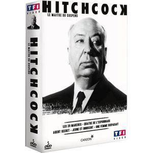 DVD FILM DVD Coffret Hitchcock : Maître du Suspens