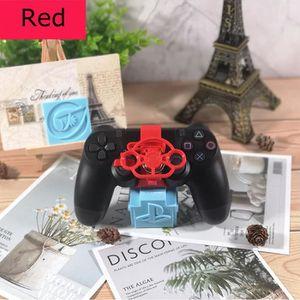 eb0bdd6b098 ADAPTATEUR MANETTE Mini volant PS4 pour contrôleur/pad-Rouge