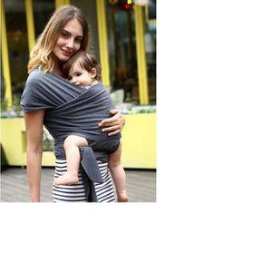 Gris Échapre de portage Bébé Infantile Sling Extensible Wrap - Achat ... a3804a9b340