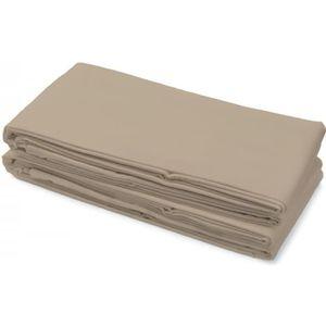 DRAP PLAT Drap plat 100% Coton 240x300 cm beige