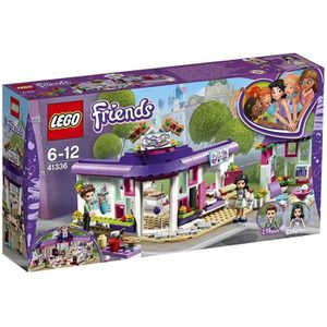 ASSEMBLAGE CONSTRUCTION LEGO® Friends 41336 Le café des arts d'Emma