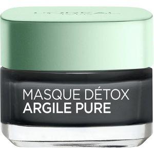 MASQUE VISAGE - PATCH L'ORÉAL PARIS - Masque Visage Détox Argile Pure -