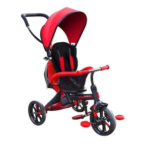 TRICYCLE STROLLY - Tricycle Evolutif Strolly Bike - Rouge