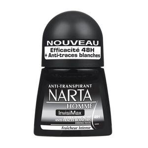 DÉODORANT NARTA Homme -  Déodorant Anti-Transpirant Invisima