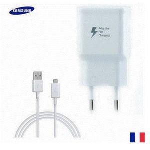CHARGEUR TÉLÉPHONE chargeur rapide samsung + cable