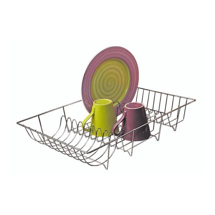 FRANDIS Égouttoir à vaisselle à poser - Métal chromé