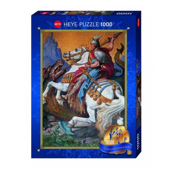 MERCIER Puzzle 1000 pièces St George - 50 x 70 cm