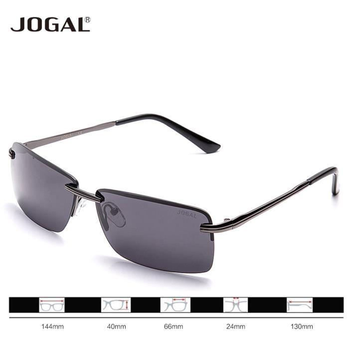 JOGAL - Lunettes de soleil - Homme - gris - 8MyPSX16ql