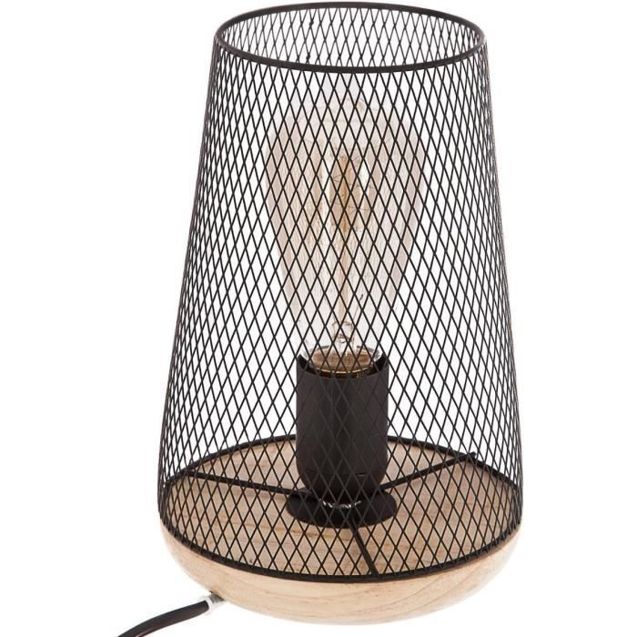 LAMPE A POSER Lampe à poser - Style Design - NOIR Noir