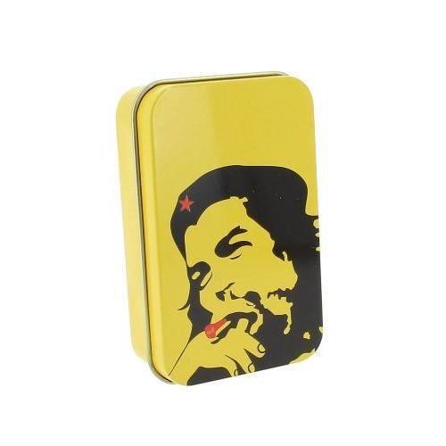 BOÎTE - BLAGUE À TABAC boite à tabac che jaune