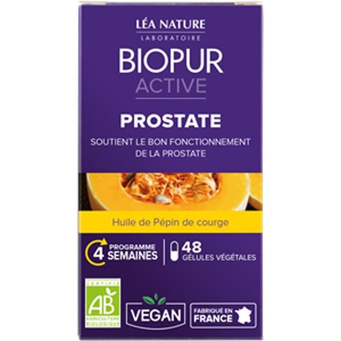 CONFORT URINAIRE BIOPUR Gélules végétales - Prostate - 48 gélules