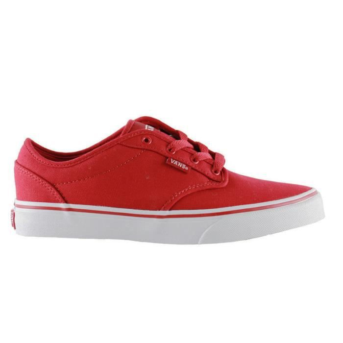 Basket Vans Atwood Canvas Red